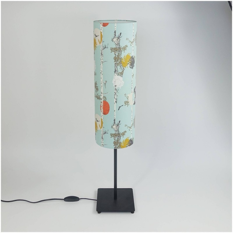 "Lampshade for lamp base ""Silver Forest"""