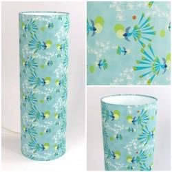 """Design tube lamp """"Safari moon"""" - Fish"""