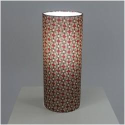 Lampes en tissu imprimé wax africain