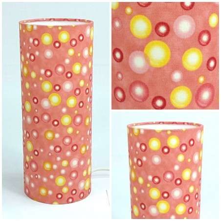 "Pendant lamp shade ""Bubble"" (coral)"