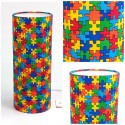 "Kids ceiling shade ""Puzzle"""