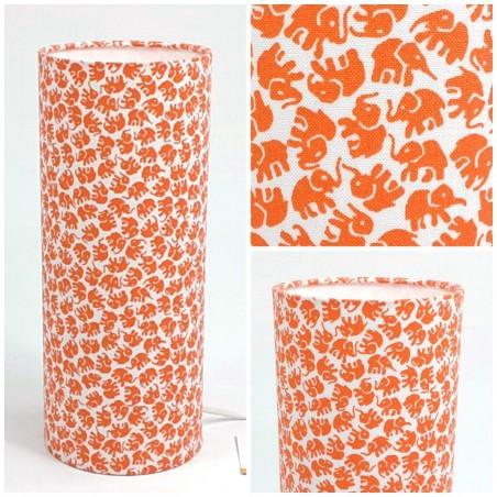 """Luminaire """"Elephant'O"""" (orange)"""