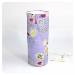 "Bedside lamp ""Magic forest"" (purple)"