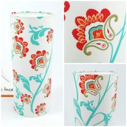 "Fabric table lamp ""Arabesque"""