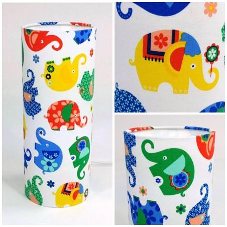 "Kids elephant lamp ""Celeste"""