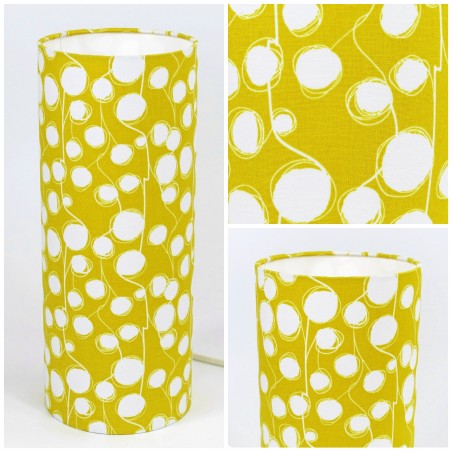 "Mood light ""Cotton flower"" (yellow)"