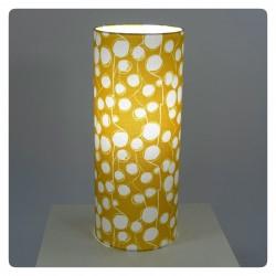 "Lighting ""Cotton flower"" (yellow)"