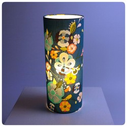 "Lampe tube cylindrique ""Blossom"""