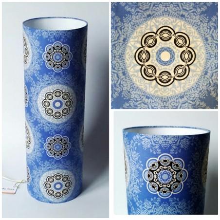 """Modern ceiling light """"Cosmic blue"""""""
