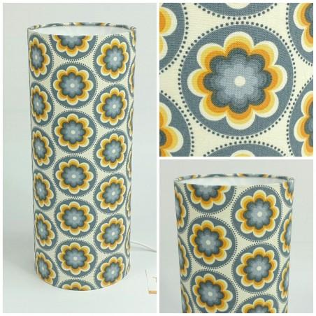 """Bedside lamp """"Bloom seafoam"""" (blue)"""